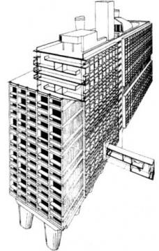 """Edifício Japurá: Pioneiro na aplicação do conceito de """"unité d'habitation"""" de Le Corbusier no Brasil (1)"""