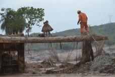 Rompimento da barragem de rejeitos da Samarco em Mariana