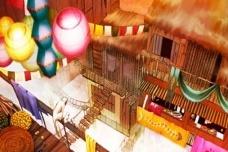 Processo de Criação e Representação da cidade de Zenobia, baseada no livro As Cidades Invisíveis de Ítalo Calvino (2016)Elaboração Giulia Becker, Luan Bobato Daldim e Rita Patron