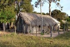 Fazendas no pantanal do negro