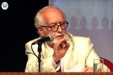O historiador Carlos Guilherme Mota profere conferência na Academia Brasileira de LetrasFoto divulgação  [vídeo ABL]