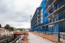 Reurbanização da favela do Sapé, Rio Pequeno, São Paulo, 2014. Base 3 Arquitetos, arquitetos Marina Grinover, Catherine Otondo e Jorge PessoaFoto Pedro Vannucchi