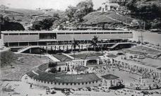 Os projetos modernos que alteraram a hidrografia da cidade de Águas de Lindóia SP,  Brasil, 1950