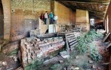 """Fazenda Vassoural, fornalha do tipo """"Trem-da-Jamaica"""", ItuFoto Victor Hugo Mori"""