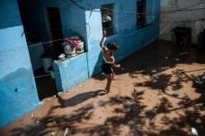 Enchente em Taboão da Serra, São PauloFoto Marcelo Camargo  [Agência Brasil]