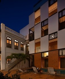 Hostel Villa 25, Rio de Janeiro RJ Brasil, 2016. Arquitetos Rodrigo Calvino e Diego Portas / C+P ArquiteturaFoto Federico Cairoli
