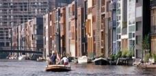 Docas leste em Amsterdã: