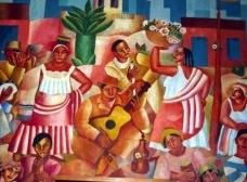 """""""Samba"""" (1925), de Di CavalcantiImagem divulgação"""