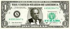"""""""One Dolar Furado"""", fotomontagem de Abilio GuerraImagem divulgação"""