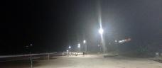 Noite, estrelas e luz