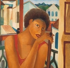 Emiliano Di Cavalcanti, Meninas Cariocas (detalhe), 1926Imagem divulgação