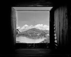 Superiscópio, imagem projetada pelo jogo de espelhos. Pedro Barata e arquitetos associados [Foto divulgação]