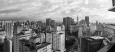 Centro de São Paulo, vista do edifício Viadutos, de Artacho JuradoFoto Rodrigo Argenton  [Wikimedia Commons]