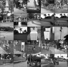 Praça Rui Barbosa, mosaico de fotos, Leme SPFoto Amanda Carolina Moreira de Andrade