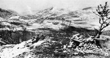 Campanha dos pracinhas em Monte Castello, Gaggio Montano, região de Bolonha, Itália, 1944-1945 Foto divulgação  [Portal FEB]