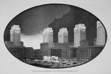 Perspectiva da Praça do Castelo, centro principal dos negóciosImagem divulgação  [Cidade do Rio de Janeiro. Remodelação, extensão e embelezamento, 1926-30]