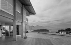 Casa na Ponta do Pulso, Ubatuba SP Brasil, arquiteto Affonso RisiBeach house at Ponta do Pulso (Pulso Beach), Ubatuba SP Brazil, architect Affonso RisiFoto Paulo Risi