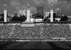 Estádio do Pacaembu em dia de jogoFoto Nelson Kon