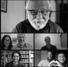 Transa Marieta #4: Danilo Miranda, Silvana Romano, Abilio Guerra, Marta Bogéa, Caio Guerra, Giovanni Pirelli e Helena GuerraFoto divulgação