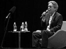 Paulo Mendes da Rocha no auditório Ruy BarbosaFoto Silvana Romano