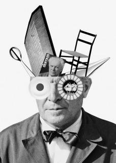"""Cartaz da Exposição """"Tutto Ponti, Gio Ponti Archi-Designer"""", Museu de Artes Decorativas, Paris, out. 2018/ mai. 2019. Desenvolvido por BETC e Italo LupiImagem divulgação  [Acervo Gio Ponti Archives/ Editorial Domus S.p.A]"""