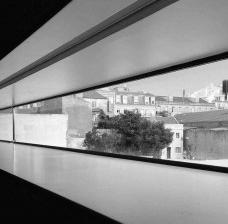 Lisboa vista do interior do Museu Nacional dos Coches, outubro de 2017Foto Sergio Jatobá