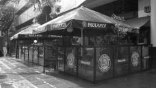 Bar no bairro Bom Fim, agosto de 2016Foto Paulo Roberto Rodrigues Soares