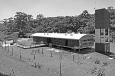 Sede Administrativa do Parque Natural Fazenda do Carmo, visão do conjunto, São Paulo, Secretaria do Verde e Meio Ambiente – SVMA, 2018Foto divulgação