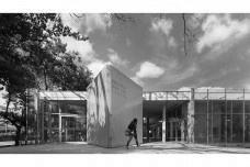Renovação da Biblioteca Monteiro Lobato, croquis de concepção do projeto. São Bernardo do Campo SP Brasil, 2014. Arquitetos Marta Moreira e Milton Braga / MMBB ArquitetosFoto Federico Cairoli