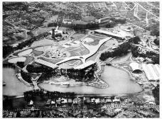 Parque do Ibirapuera em sua inauguração em 1954Foto divulgação  [Revista Manchete Especial do IV Centenário]