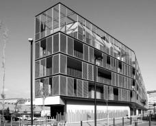 Conjunto Habitacional Fira de Barcelona – L'Hospitalet de Llobregat, fachada sul, Barcelona 2009. ONL ArquitecturaFoto Gianluca Giaccone