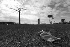 Terra arrasada provocada pela seca, Brasília DFFoto Marcelo Camargo  [Agência Brasil]