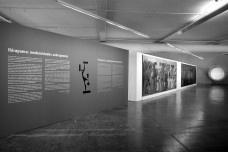 Painel de entrada da exposiçãoFoto Rafael Itsuo Takahashi