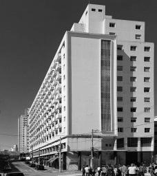 Edifício Bla, Rua Maria José, Bixiga, São PauloFoto Marcio Novaes Coelho Jr.