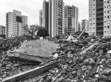 Sítio da antiga vila operária João Migliari, demolida no início de setembro de 2019Foto Gabriel de Andrade Fernandes