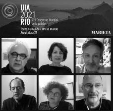 Milton Hatoum, Sonia Marques, Augusto Massi, Angelo Bucci, Margareth da Silva Pereira e Abilio GuerraImagem divulgação