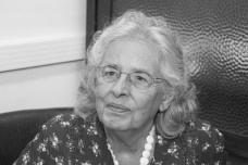 Ecléa Bosi (São Paulo, 1936 – São Paulo, 2017)Foto Marcos Santos  [USP Imagens]