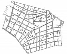 Distribuição de residências RQP no bairro do UmarizalElaboração Laura Costa (2014) a partir de dados da Codem