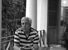 Arquiteto paisagista João Nunes em entrevista para o grupo de pesquisa Inquérito Portugal, no solar Grandjean de Montigny, na Pontifícia Universidade Católica do Rio de JaneiroFoto Inquérito Portugal
