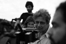 Roberto Gervitz durante a filmagem de Prova de coragemFoto Rodrigo Baleia