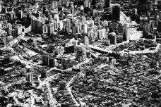 O Centro Novo de São Paulo na passagem dos anos 1950Foto divulgação  [Oswaldo Arthur Bratke arquiteto. A arte de bem projetar e construir/ Proeditores]