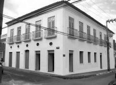 Vista da fachada restaurada digitalmenteFoto Luís Magnani