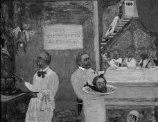 Os Cozinheiros Perigosos, 1896. James Ensor (Bélgica, 1860–1949)Imagem divulgação  [Website MoMA]