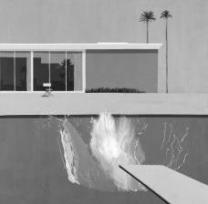 A Bigger Splash, 1967, pintura de David HockneyImagem divulgação