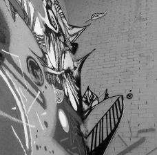 Arcos do Bixiga, muros com grafites, São Paulo, 14/02/2015Foto Martin Jayo