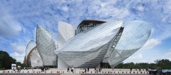 Fundação Louis Vuitton em Paris, França
