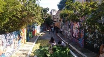 São Paulo, graffiti e manifesto máquina de guerra