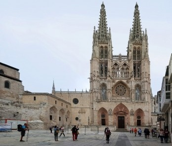 Catedral de Burgos, Caminho de Santiago, Espanha
