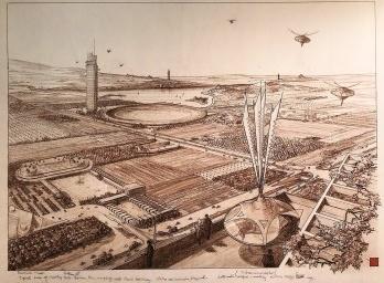Antenado em Frank Lloyd Wright