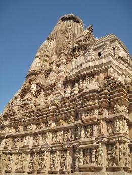 Templos Khajuharo em Madhya Pradesh, Índia